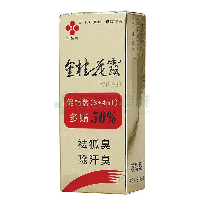 金桂花露 祛臭液(桂林长圣药业有限责任公司)-桂林长圣