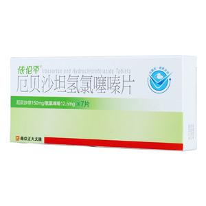 依伦平 厄贝沙坦氢氯噻嗪片