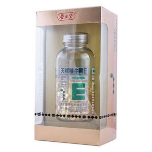 養生堂 天然維生素E軟膠囊
