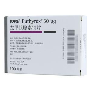 優甲樂 左甲狀腺素鈉片