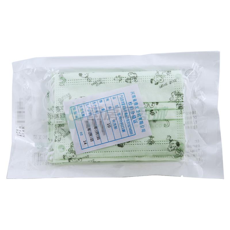 【豫北】儿童用·医用外科口罩 包装侧面图3