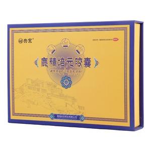 央宗 鹿精培元膠囊(青海央宗藥業有限公司)-青海央宗包裝側面圖1