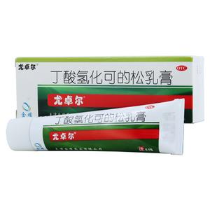 尤卓尔 丁酸氢化可的松乳膏(天津金耀药业有限公司)-金耀药业包装细节图5