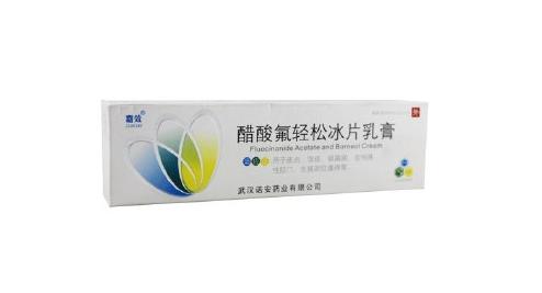 醋酸氟轻松冰片乳膏和复方樟脑乳膏可以同用吗?