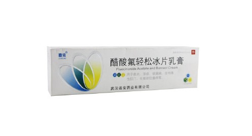 氟轻松维B6乳膏与醋酸氟轻松冰片乳膏有哪种区别?
