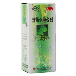 福星 清燥潤肺合劑(揚州市三藥制藥有限公司)-揚州三藥包裝側面圖2