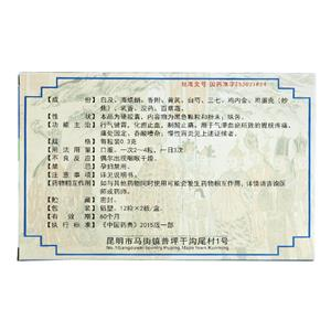 洪光 胃康胶囊(云南保元堂药业有限责任公司)-云南保元堂包装侧面图3