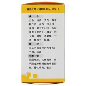 碑林 金嗓清音丸(西安碑林药业股份有限公司)-西安碑林包装细节图2