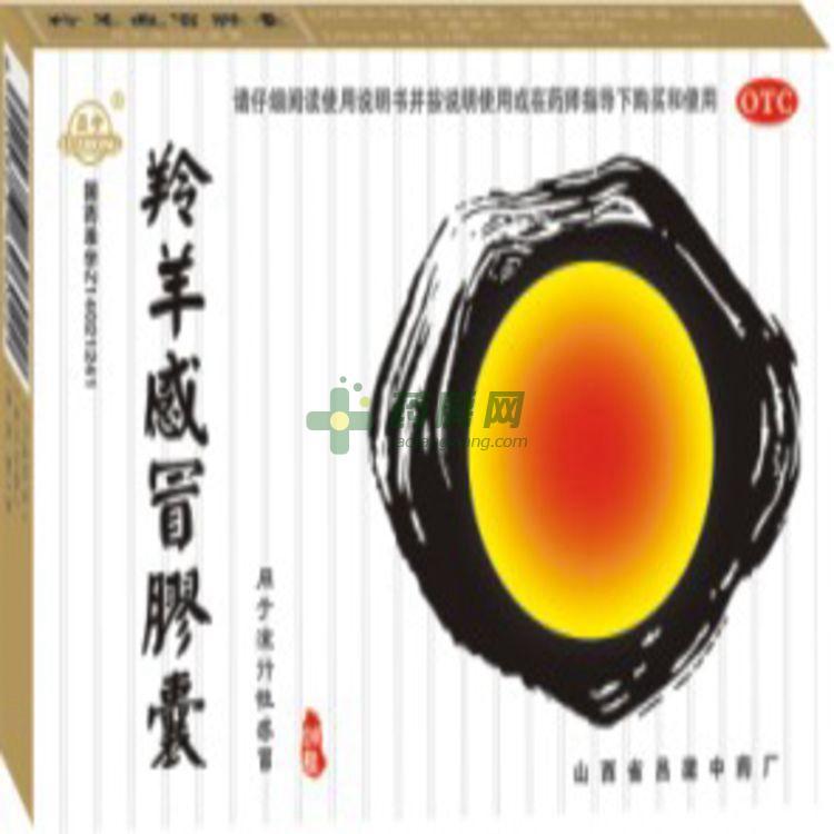 羚羊感冒胶囊(山西省吕梁中药厂)-吕梁中药