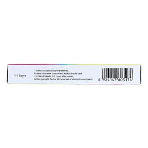 达喜 铝碳酸镁片(拜耳医药保健有限公司)-拜耳医药包装细节图2