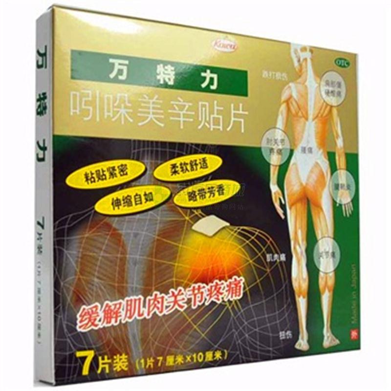 万特力 吲哚美辛贴片(MaedaPharmaceuticalCo.,Ltd)