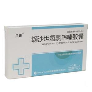 蘭普 纈沙坦氫氯噻嗪膠囊