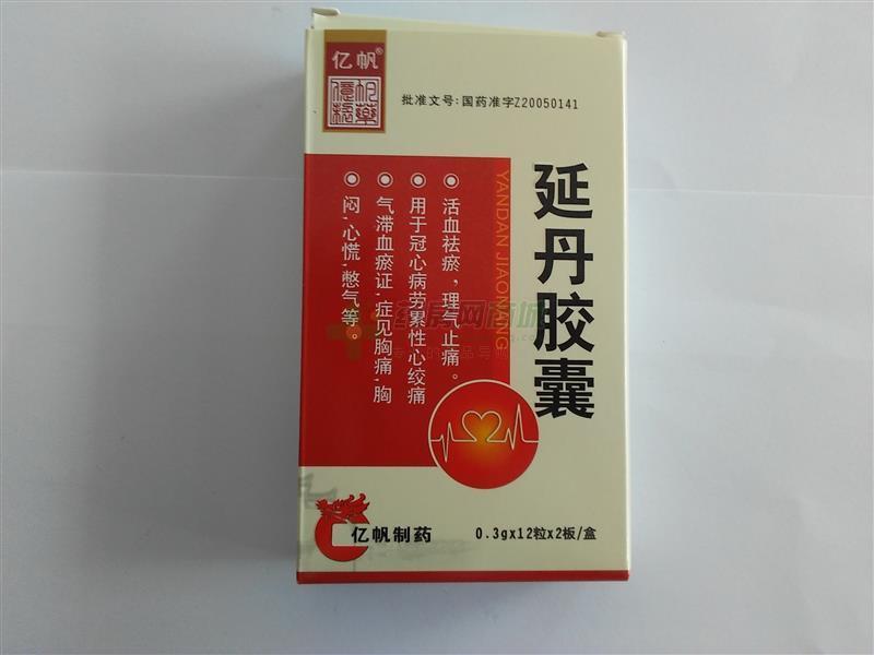 延丹膠囊(天長億帆制藥有限公司)-天長億帆