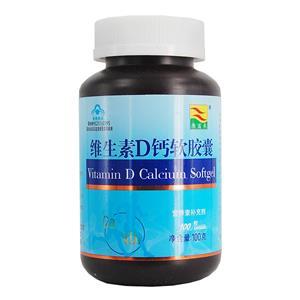 【康富来】维生素D钙软胶囊